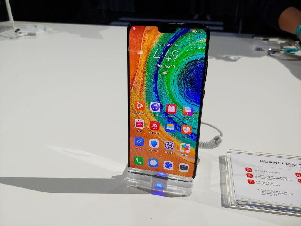 Руки на: Huawei Mate 30 1