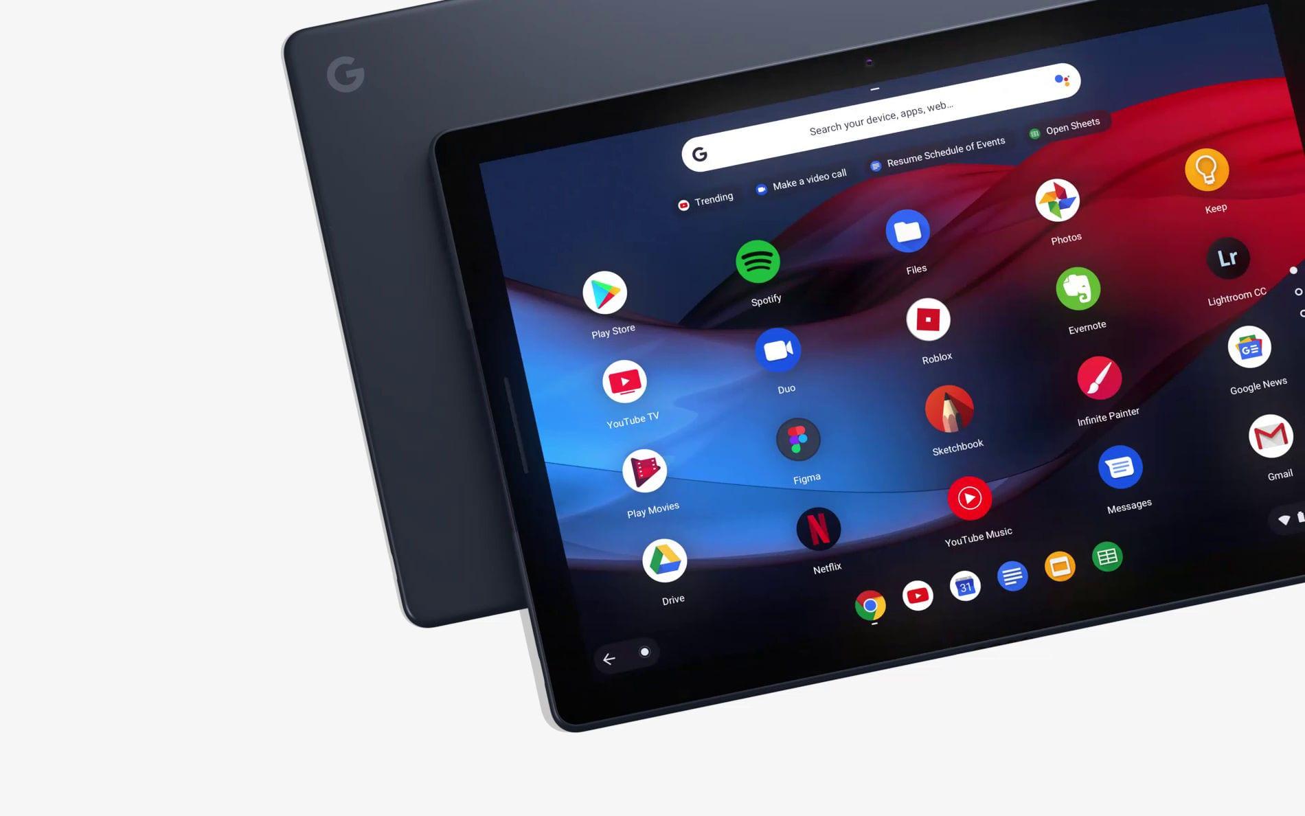 Google не сдается: это будет ваш планшет PixelBook Go