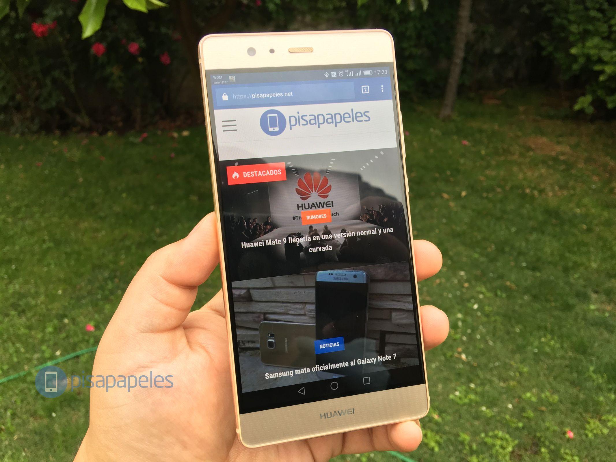 Huawei-P9-плюс-папье-сеть