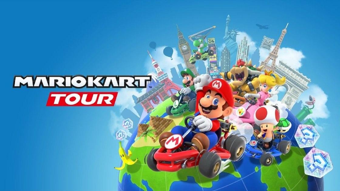 Mario Kart Tour вышел для устройств Android и iOS