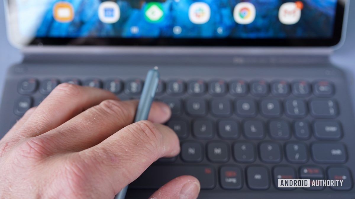 Samsung Galaxy Tab S6 обзор ручной клавиатуры S Pen