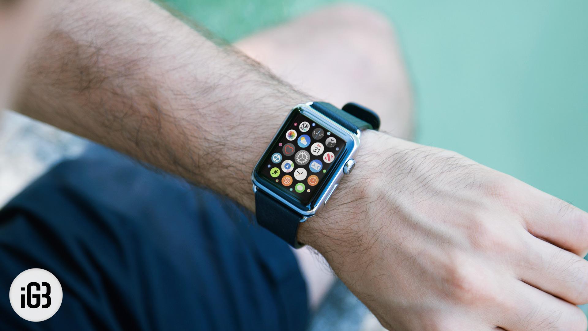 Как сохранить Apple Watch Срок службы батареи во время путешествий