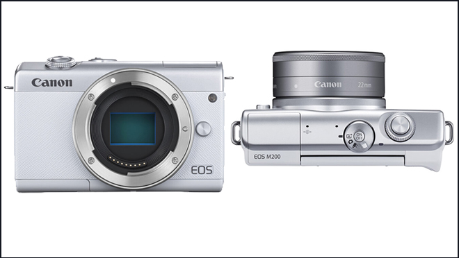 Canon анонсирует системную камеру EOS M200 с удобными функциями 3