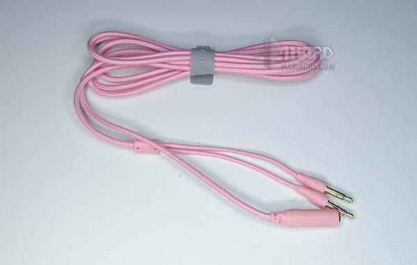 кабель для наушников Razer Kraken Quartz Pink
