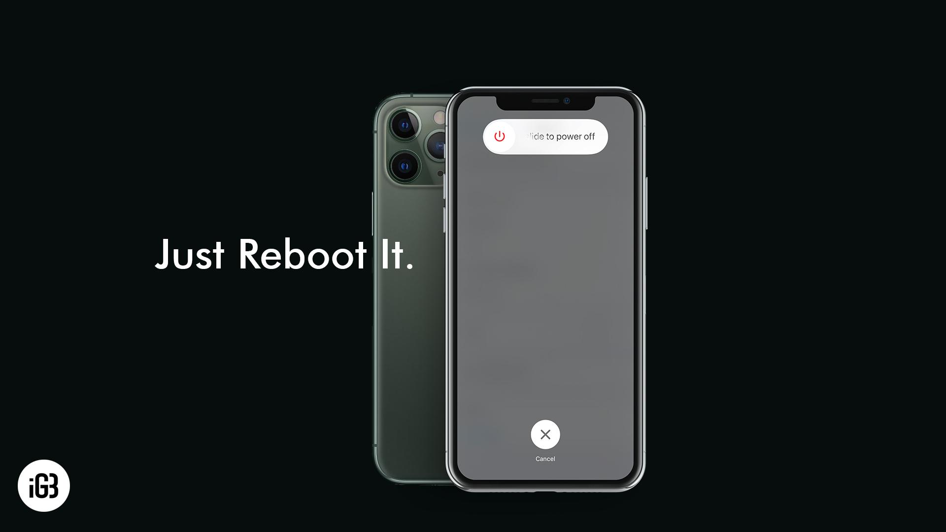 Как принудительно перезагрузить или перезагрузить iPhone 11, 11 Pro и 11 Pro Max