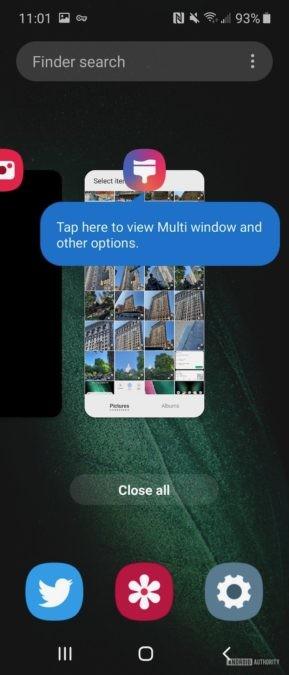 Samsung Galaxy Fold  Обзор организации One UI Home