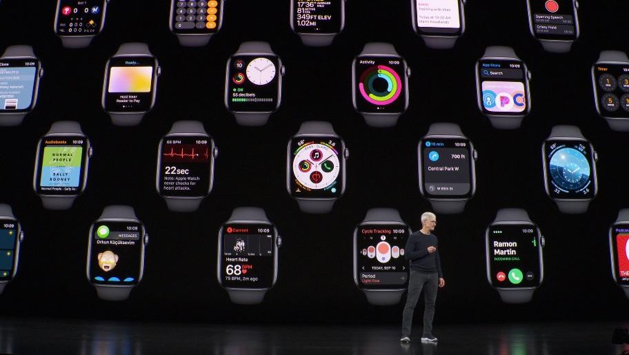 Apple Watch Снятие серии 5 показывает, что новые часы не идентичны серии 4