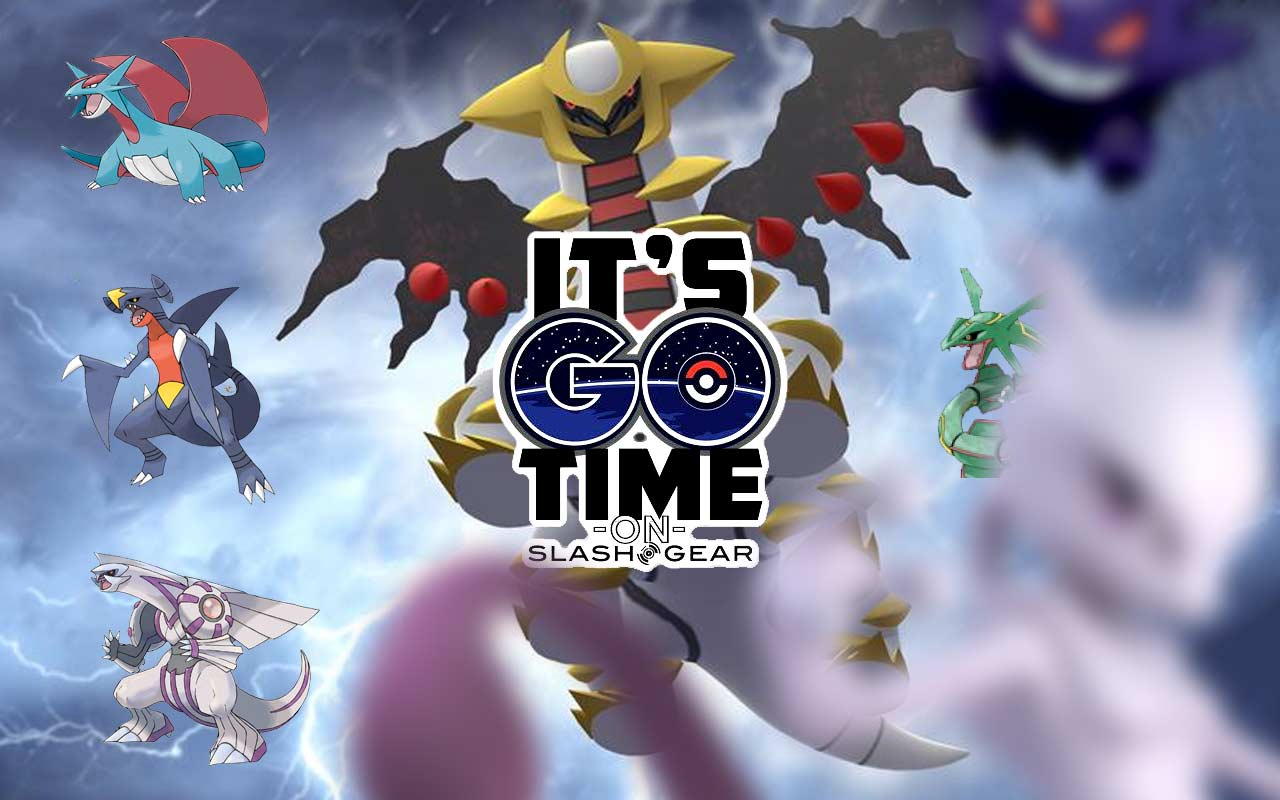 Shiny Pokemon GO Счетчики рейдов и движений Giratina: ОБНОВЛЕННЫЕ детали