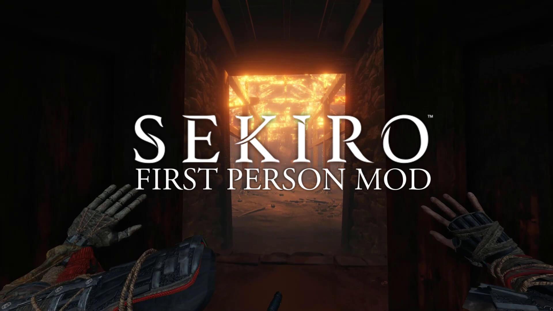 Теперь вы можете играть в Sekiro: Shadows Die Twice в режиме от первого лица благодаря этому удивительному моду