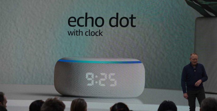 Amazon запускает Echo Dot со встроенными светодиодными часами, немного повышает цену