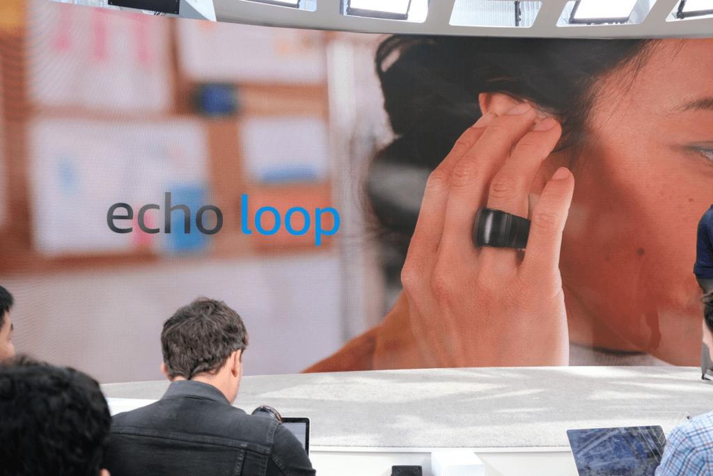 Amazon  Аппаратное событие 2019 - Echo Loop