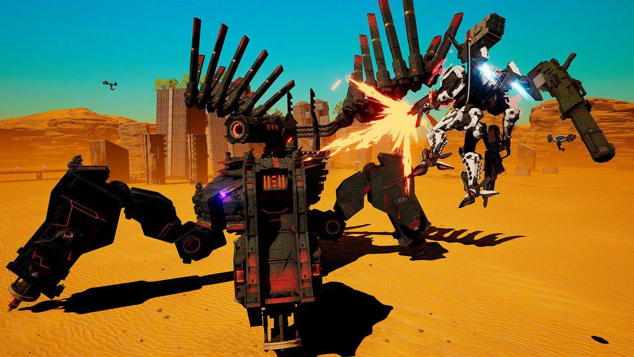 Daemon X Machina получит боевые режимы 1 на 1 и 2 на 2, подробные планы на будущее