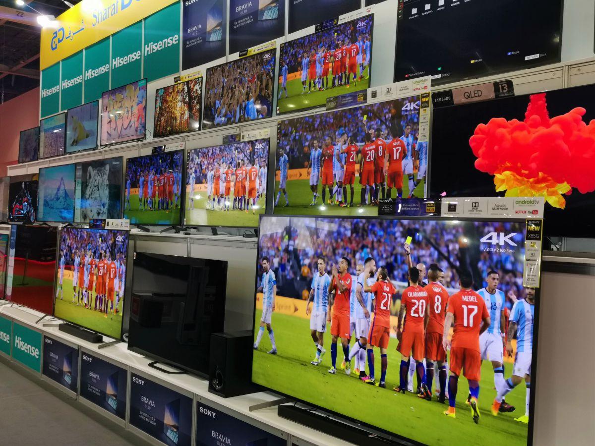 Продажи подержанного телевидения огромны и растут быстрее, чем из первых рук в ОАЭ