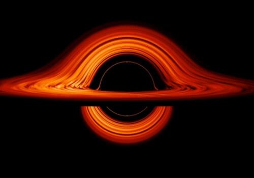 НАСА визуализирует искривленный мир черной дыры