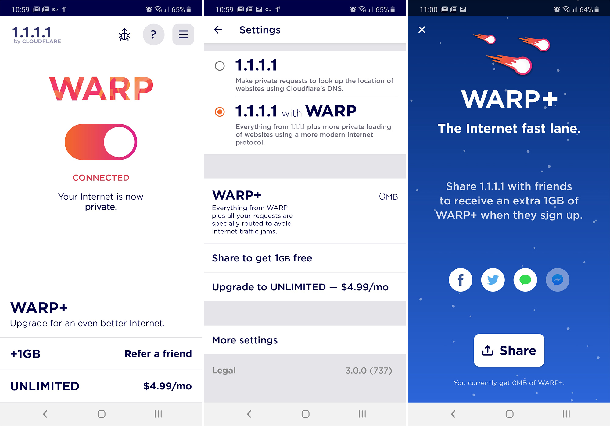 Warp VPN от Cloudflare наконец-то доступен каждому