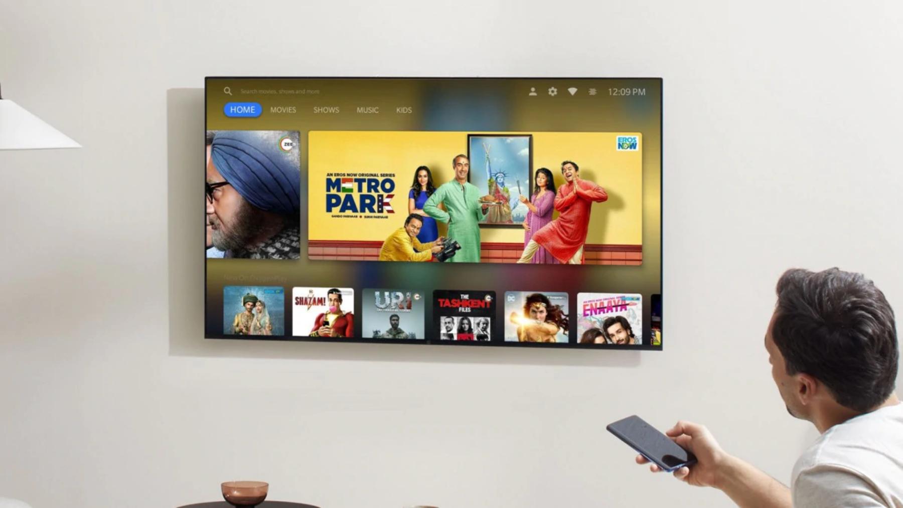 OnePlus представляет свой первый телевизор