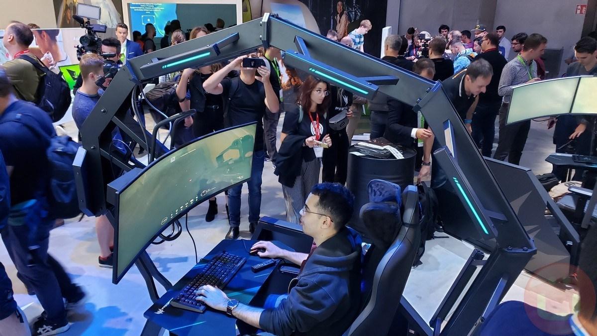 Acer удваивает свое невероятное игровое кресло с Thronos Air