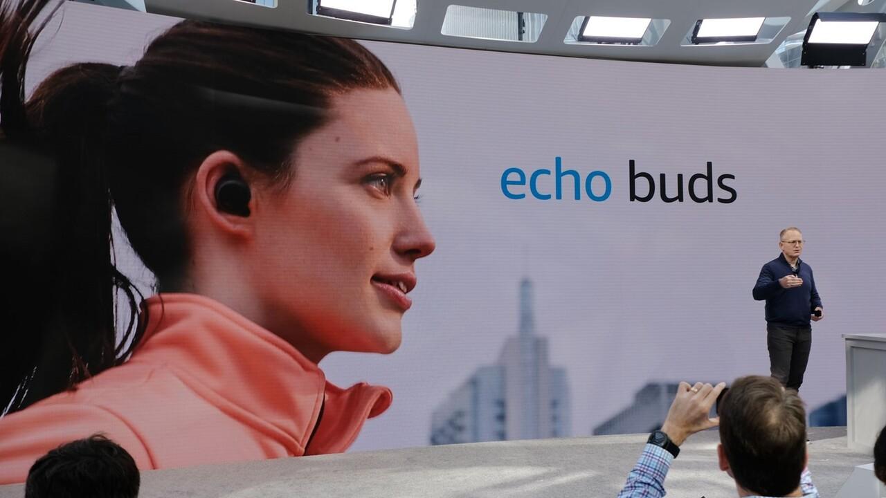 Amazon Echo Buds: Kabellose Alexa-In-Ear-Kopfhörer mit ANC von Bose