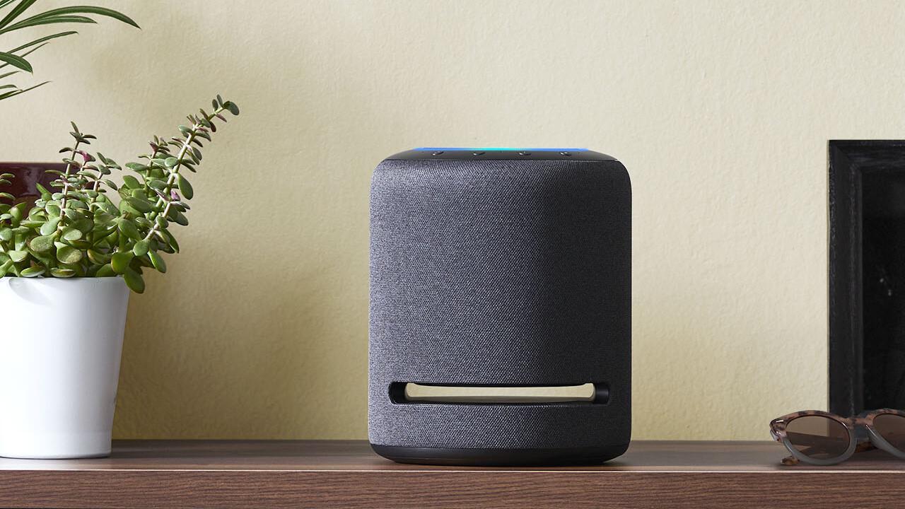 Amazon Echo Studio: Größerer Alexa-Lautsprecher mit Subwoofer & Dolby Atmos