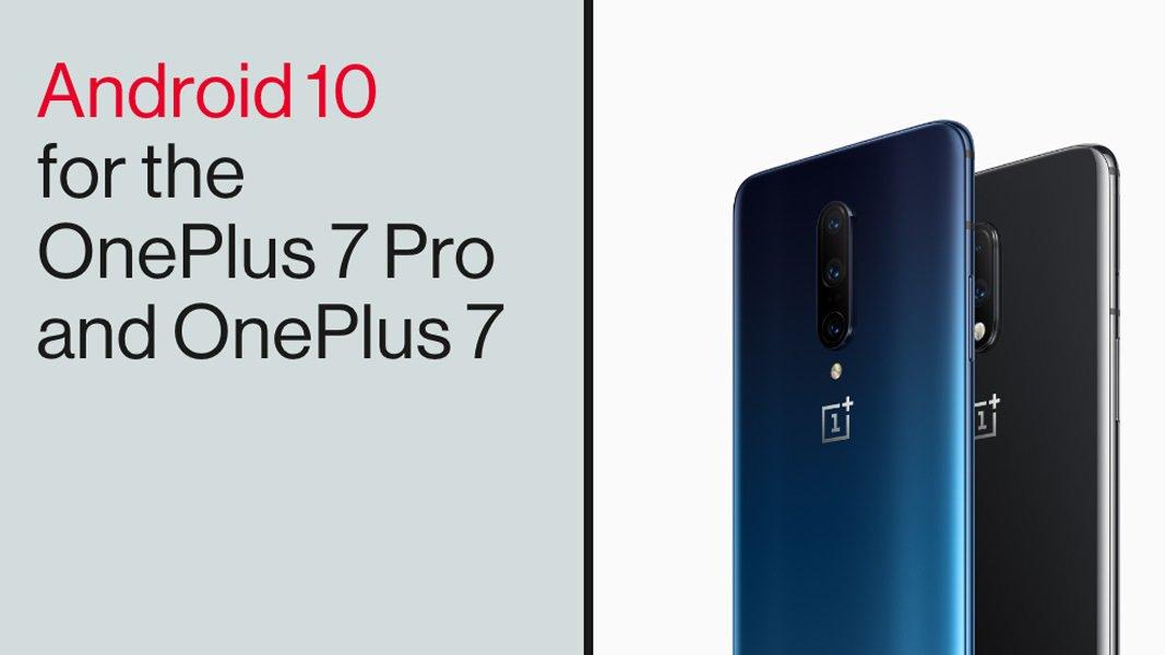 Android 10 выходит на OnePlus 7 и OnePlus 7 Pro