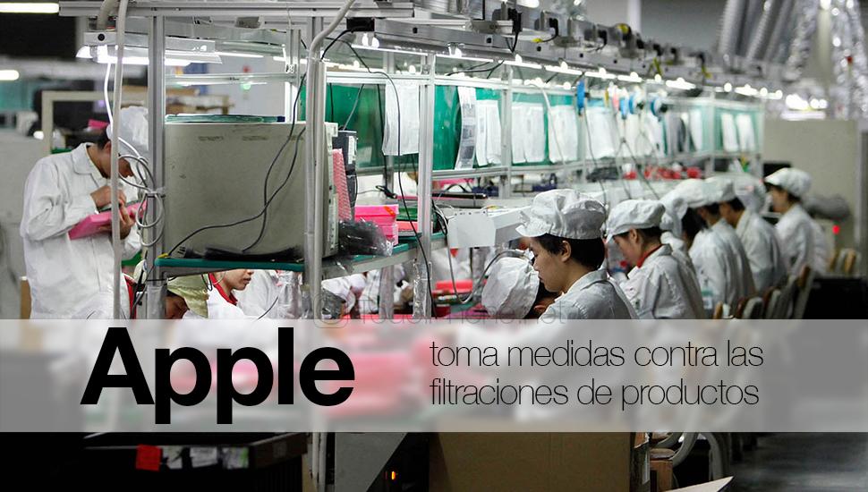 Apple нанять китайских агентов, чтобы избежать утечек продукта 1