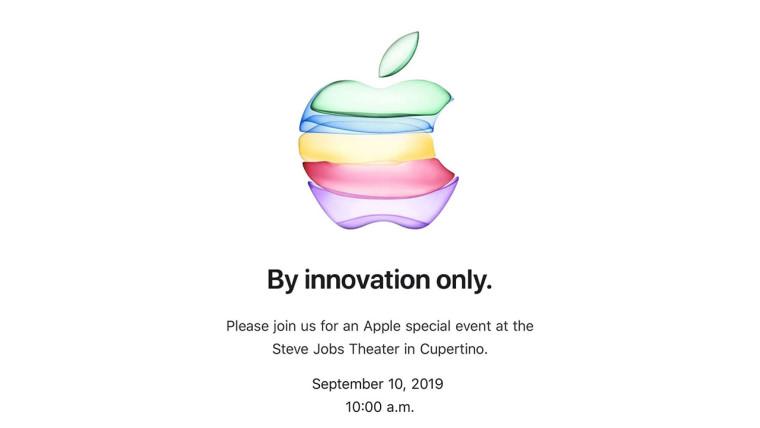 Apple10 сентября событие будет транслироваться в прямом эфире YouTube в первый раз 1