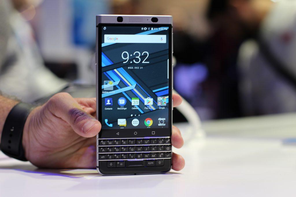 BlackBerry Mercury, наши первые впечатления # CES2017