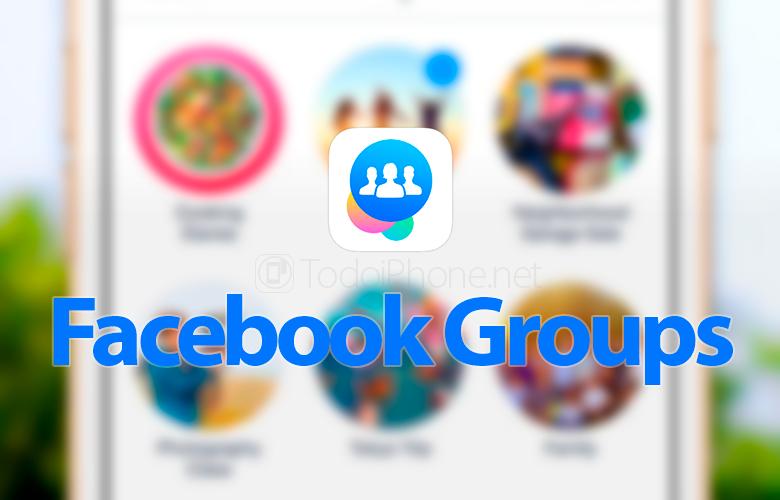 Facebook Группы для iPhone поступают с важными новостями 1