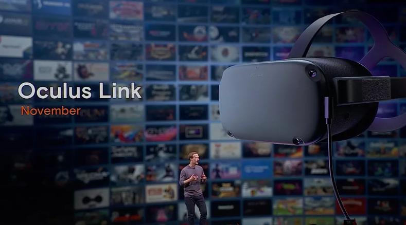 Facebook Объявляет Oculus Link, способ связать Rift-контент с Oculus Quest