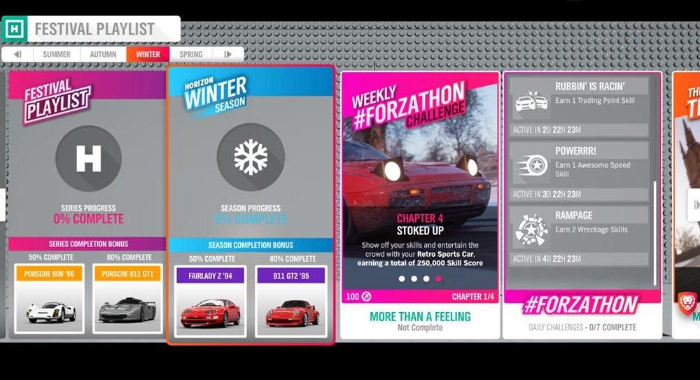 Forza Horizon 4 # Forzathon 12-19 сентября: «Больше, чем чувство»