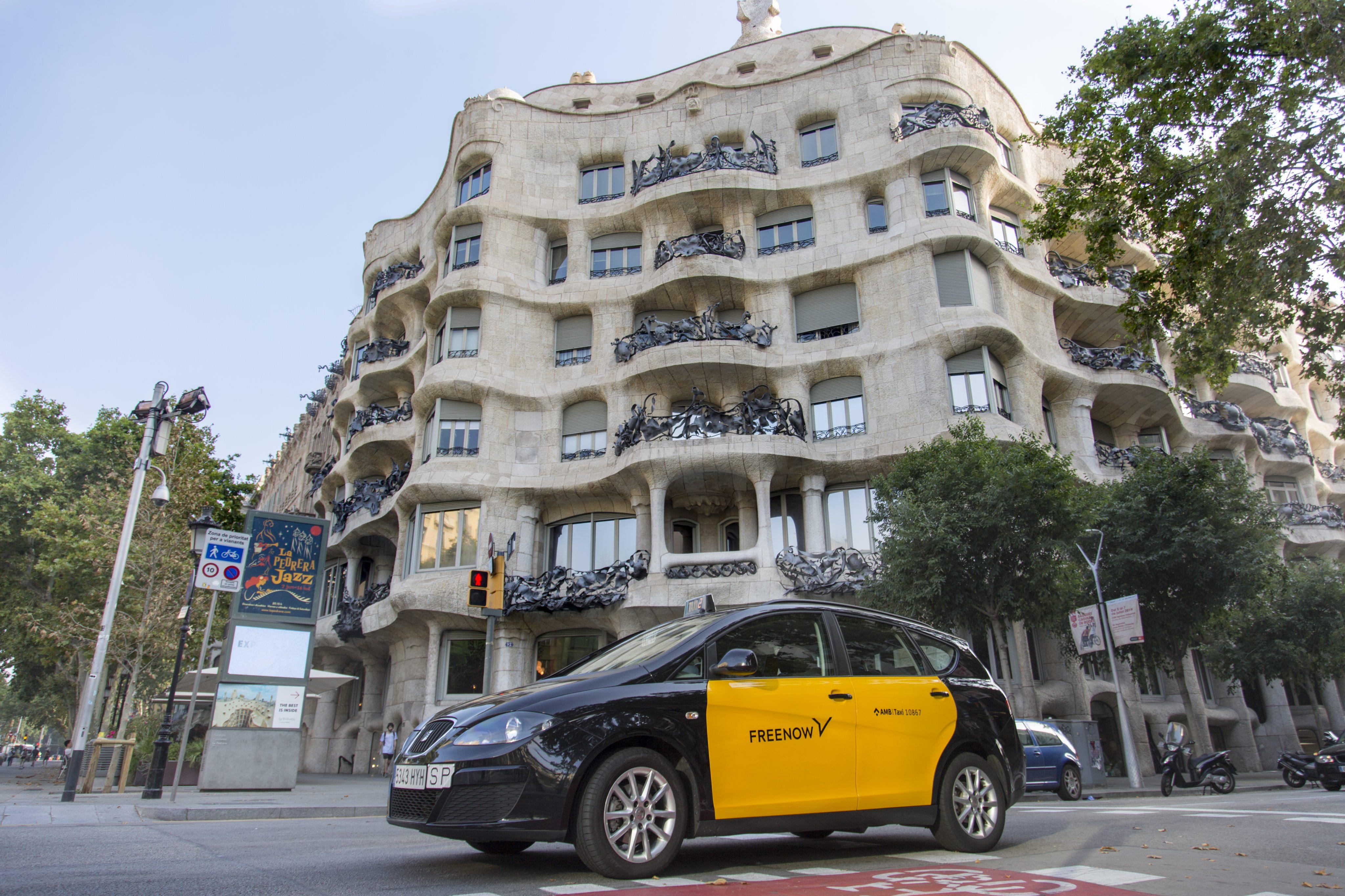 FreeNow (MyTaxi) выбирает Барселону, самый комфортный регион с такси, для своего инновационного центра
