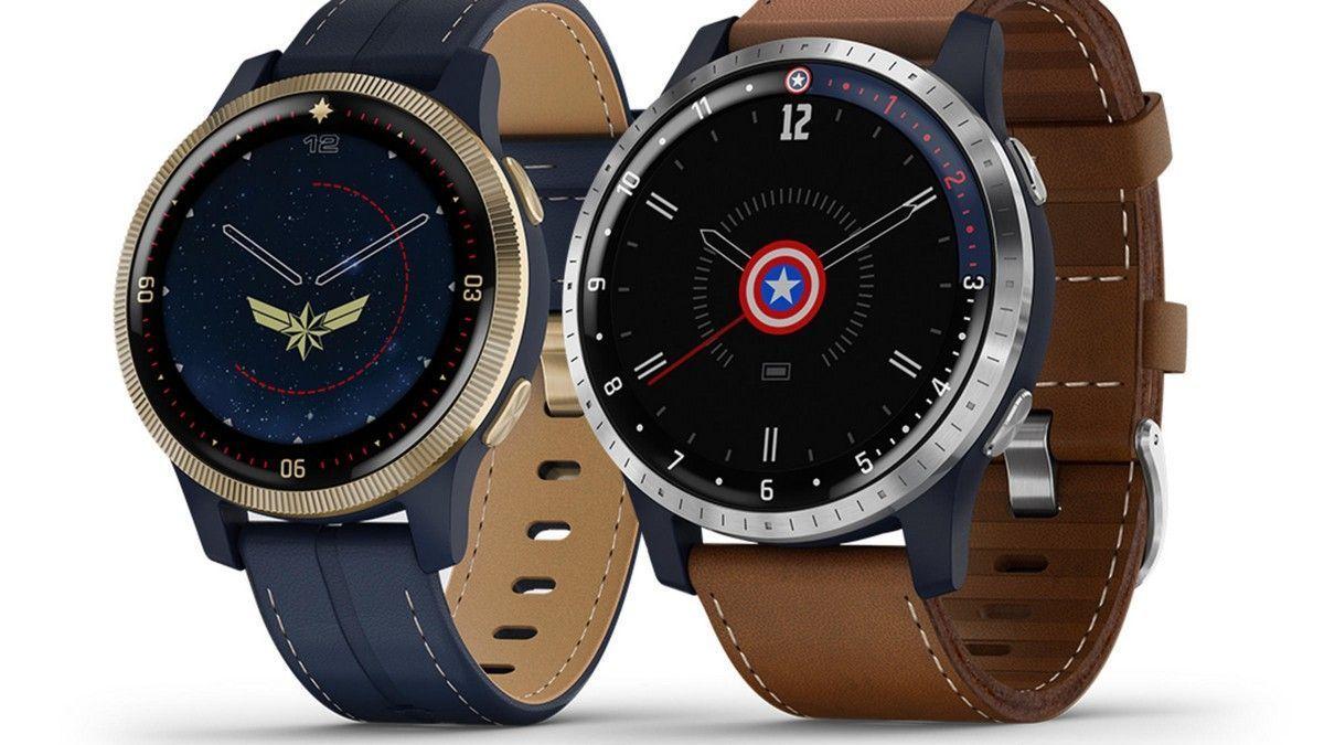 Garmin представляет пару MarvelТематические умные часы