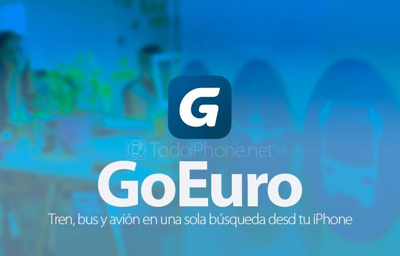 GoEuro, поезд, автобус и самолет в одном поиске с вашего iPhone 1
