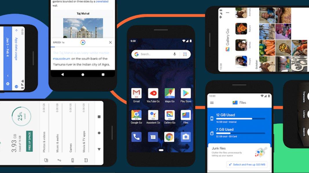 Google выпускает Android 10 (Go Edition) для бюджетных телефонов