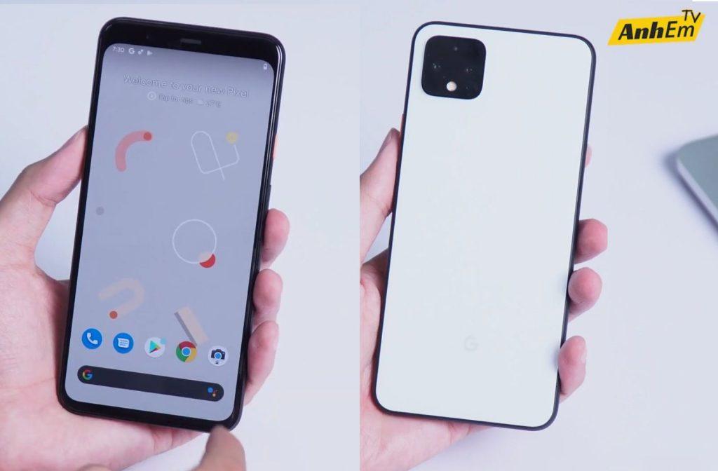 Google Pixel 4 XL с 90-Гц дисплеем в руках на видео, показывающих детали камеры, «Motion Sense», может быть объявлен 15 октября.