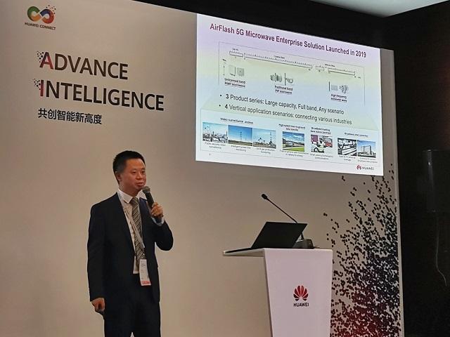 Huawei запускает решение AirFlash 5G для микроволновой связи для предприятий, обеспечивающее эффективные связи в отрасли 1