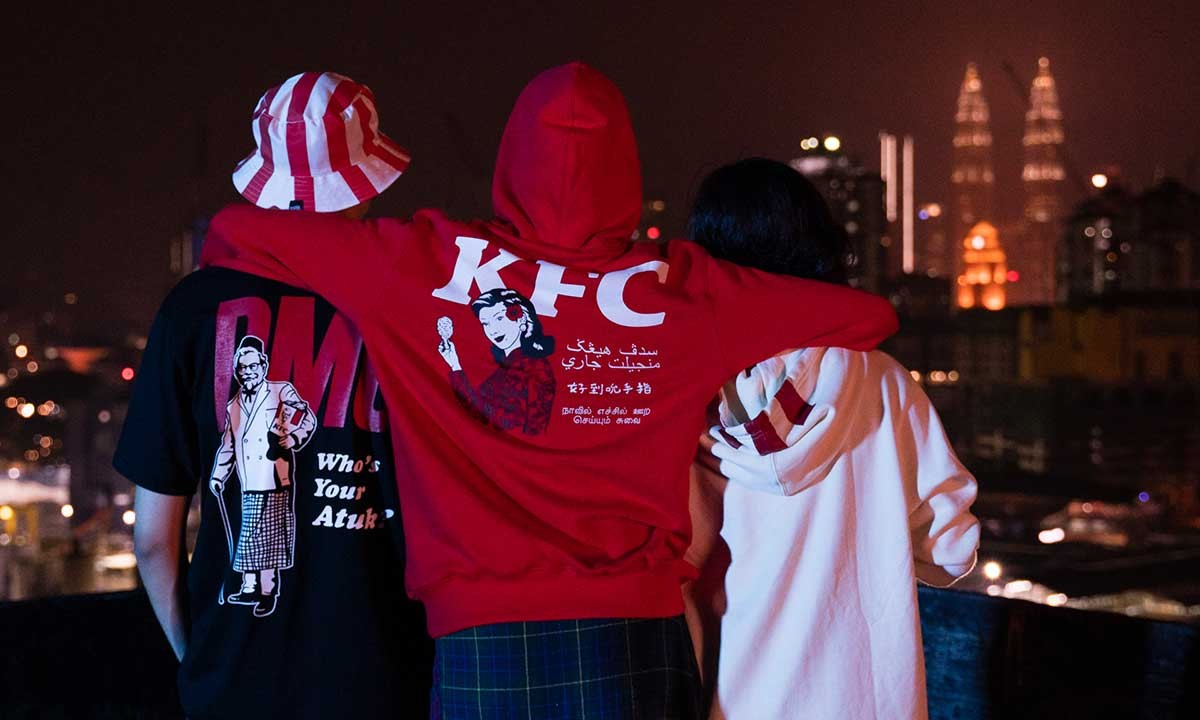 KFC Malaysia запускает коллекцию одежды Pestle & Mortar