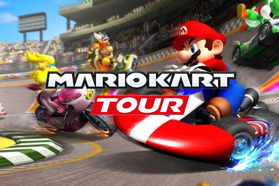 Mario Kart Tour доступен для скачивания