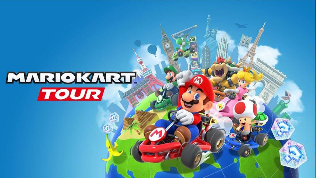 Mario Kart Tour официально запущен на iOS и Android