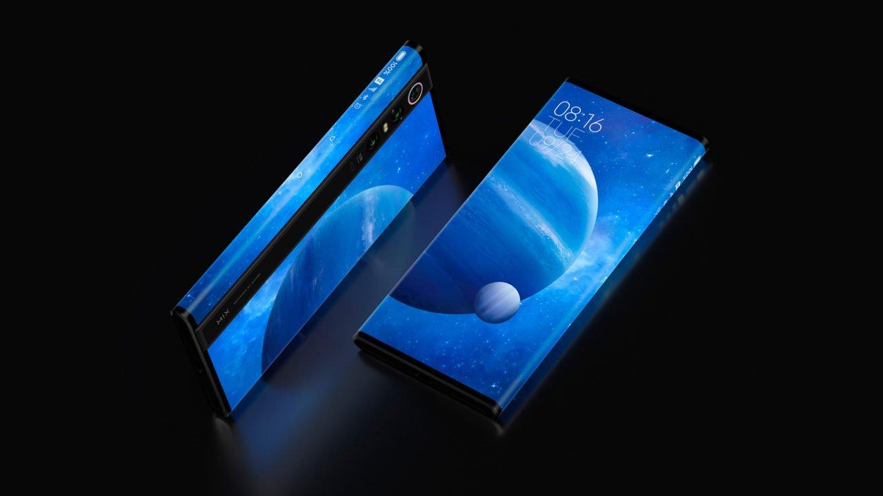 Mi Mix Alpha от Xiaomi - это сумасшедший телефон с 180% соотношением экрана к телу