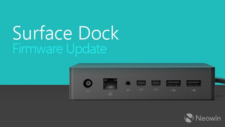 Microsoft выпускает новый инструмент обновления прошивки док-станции Surface, устарел старый