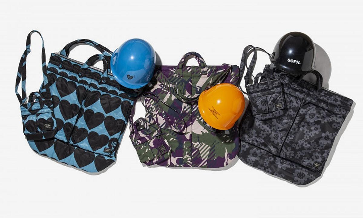 PORTER Enlists N.Hoolywood & More для капсул для всплывающих сумок и шлемов