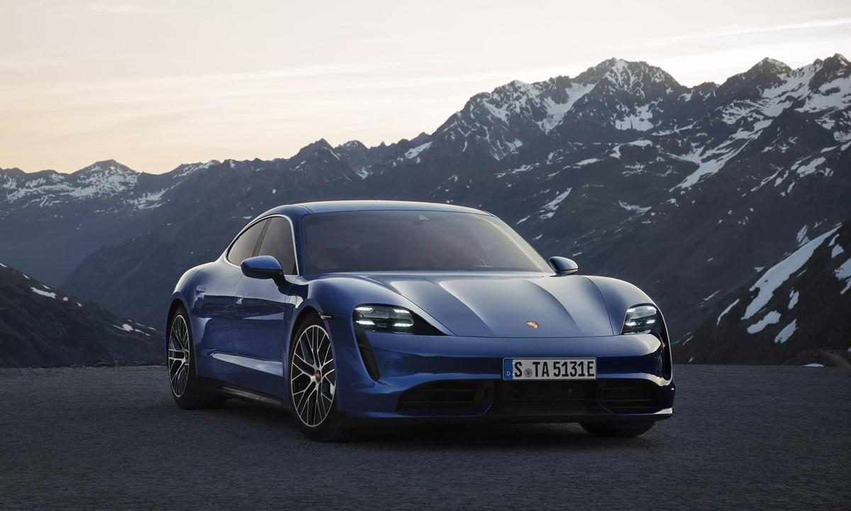 Porshe выпускает полностью электрический спортивный автомобиль Taycan Turbo: смотрите здесь