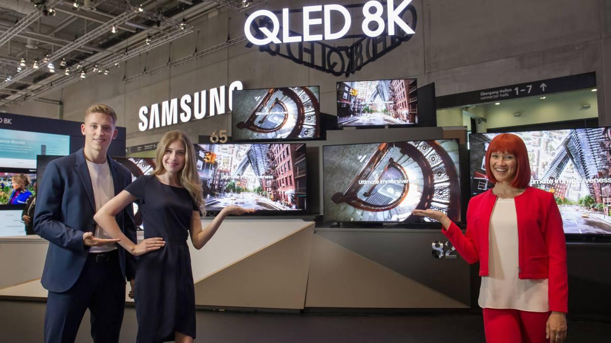 Samsung показывает свой дешевый Smart TV 8K на выставке IFA 2019