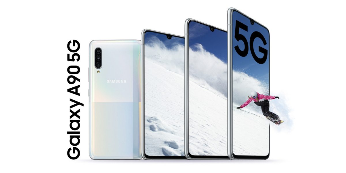 Samsung Galaxy A90 5G объединяет возможности следующего поколения и DeX в устройстве среднего уровня