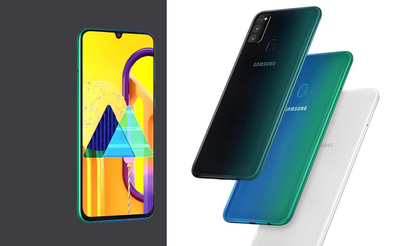 Samsung Galaxy M30s выпущены с 6k батареей менее чем за $ 200