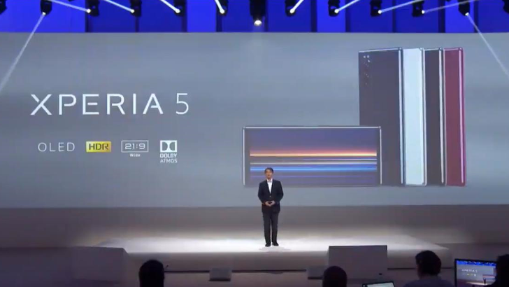 Sony заметила, что готовится представить Xperia 5 на IFA 2019