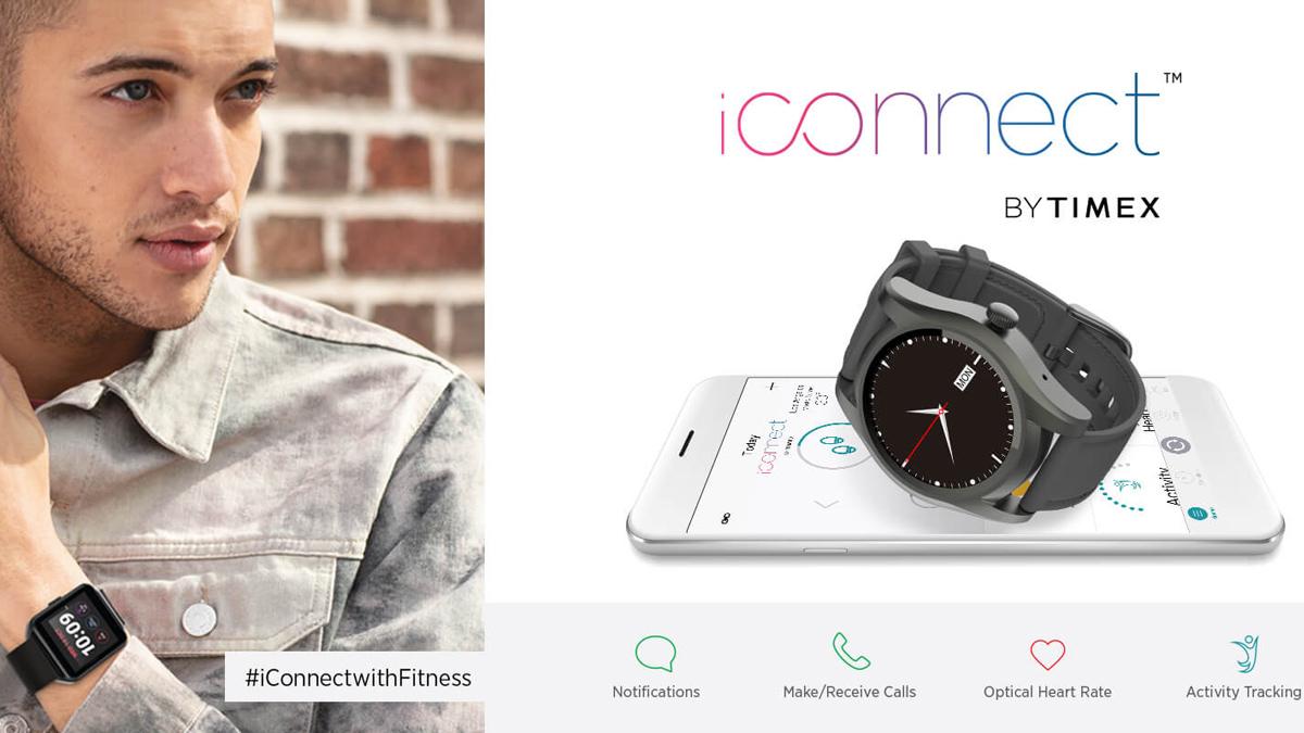 Timex запускает умные часы iConnect, iConnect Fashion в Индии 1