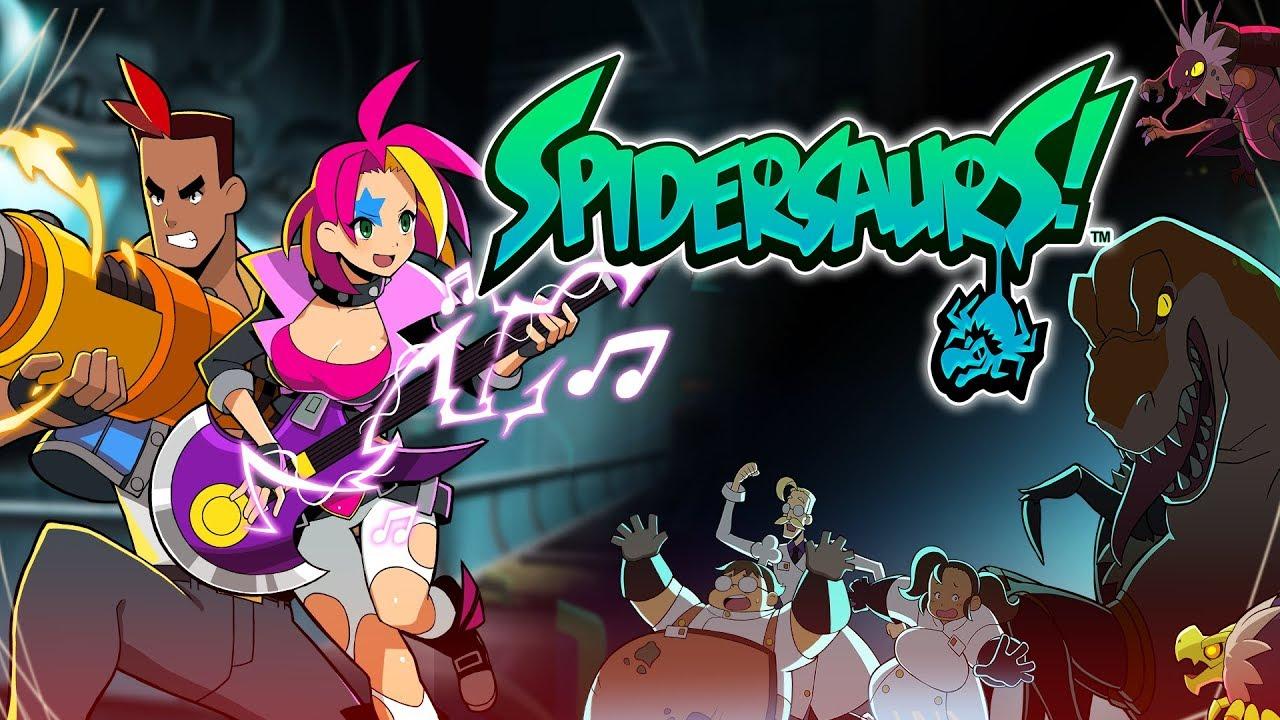 WayForward запускает 2D-шутер Spidersaurs на Apple Аркада
