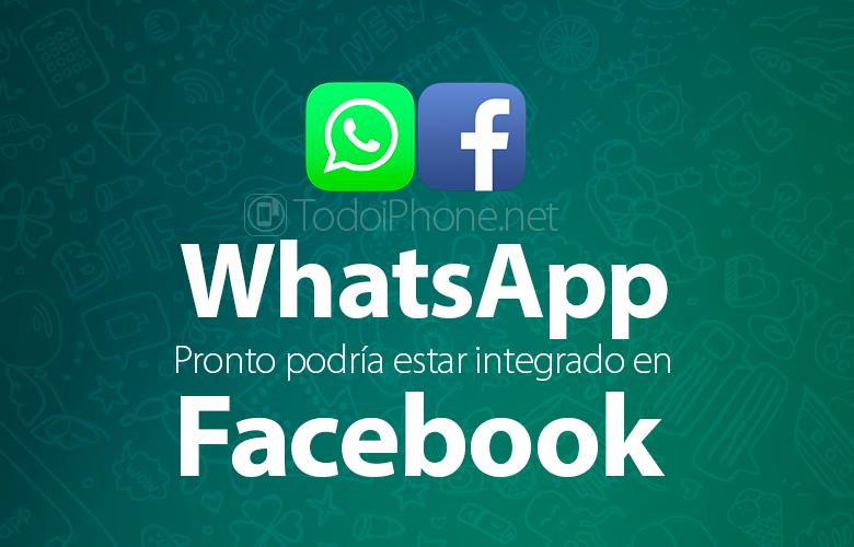 WhatsApp скоро может быть интегрирован в Facebook 1